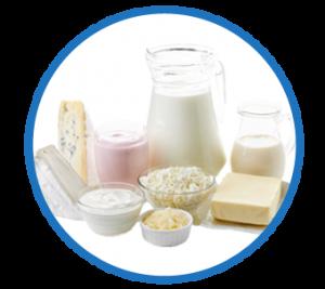 Anwendungsbereich Milchprodukte