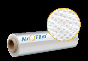 Megaplast Verpackungsinnovation AirOFilm Produktrolle
