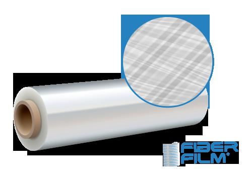 Produktrolle FiberFilm® extrem reißfest mit verstärkungsstreifen fiberstreifen