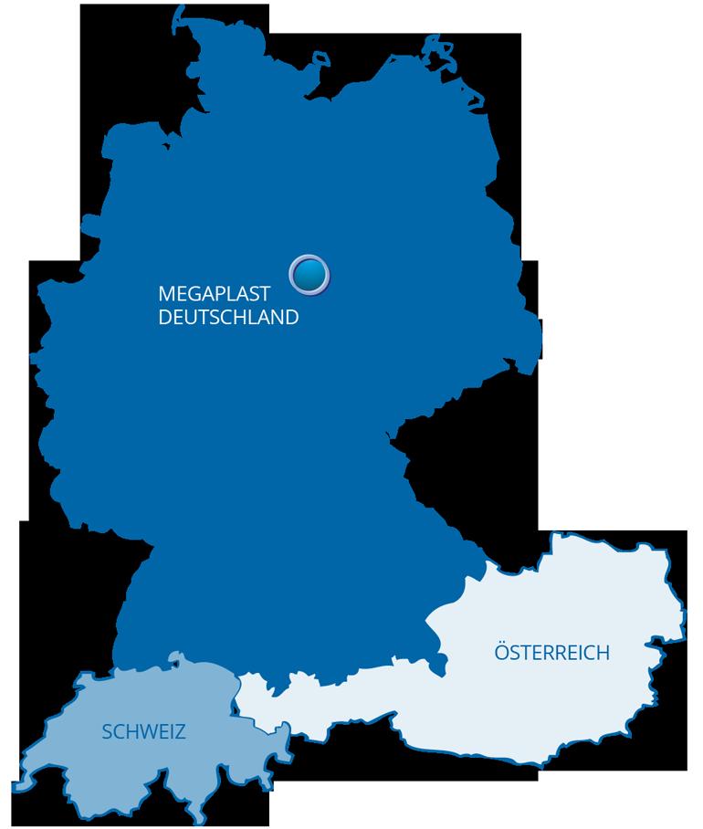 MEGAPLAST DEUTSCHLAND ÖSTERREICH SCHWEIZ