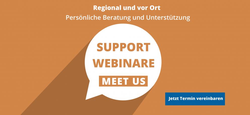 Support Webinare